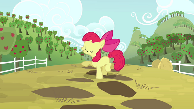 File:Apple Bloom talking about Applejack S4E09.png