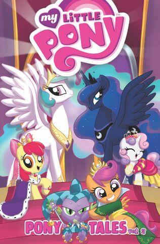 File:MLP Pony Tales Volume 2 cover.jpg