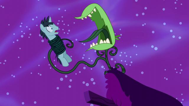 File:Monstrous flytrap captures Neon Lights S5E13.png