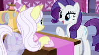 Rarity asks Lily Lace about her inspiration S7E9