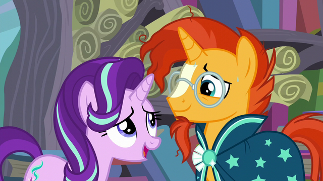 """File:Starlight """"agrees"""" with Sunburst S6E2.png"""