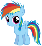 FANMADE Young Rainbow Dash