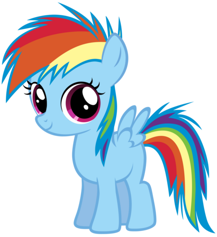 File:FANMADE Young Rainbow Dash.png
