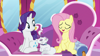 "Fluttershy ""we have no need for curtains"" S7E5"
