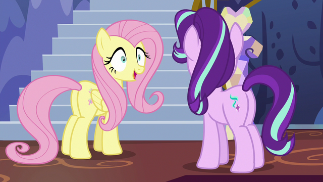 File:Fluttershy accepting Starlight's orders S6E21.png
