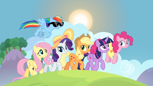 File:Mane six on friendship retreat S7E2.png