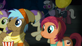 Manehattan ponies watching the play together S5E16.png