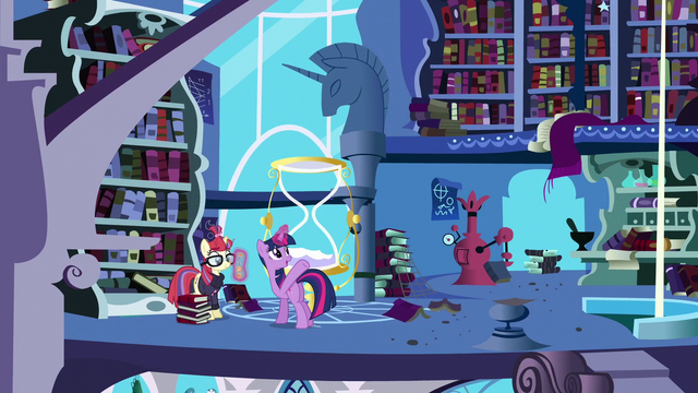 File:Twilight gives Moon Dancer free access to the tower S5E12.png