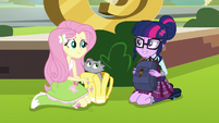 Twilight joins Fluttershy EG3