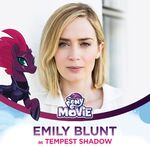 Emily Blunt as Tempest Shadow