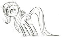 Fluttershy TheStare Sketch.jpg