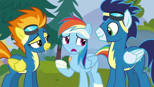 """File:Rainbow Dash """"you're as fast as a ship"""" S6E7.png"""