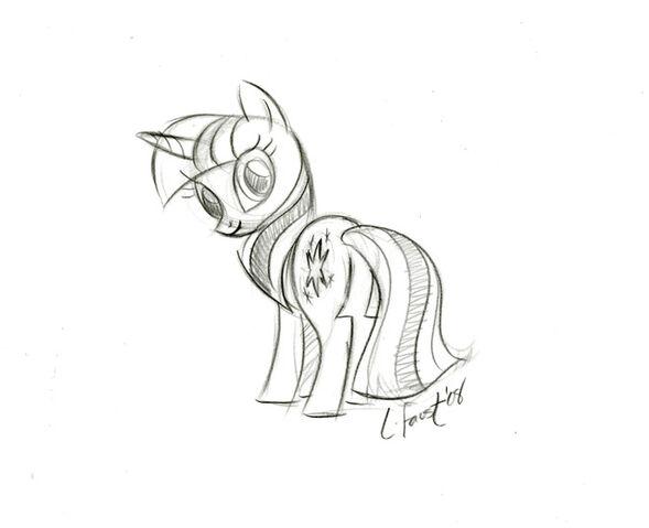 File:TwilightSparkle Sketch.jpg