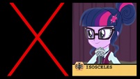 "Twilight correctly spells ""isosceles"" EG3"