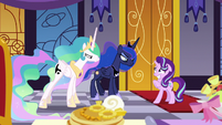 Celestia and Luna angry at Starlight Glimmer S7E10
