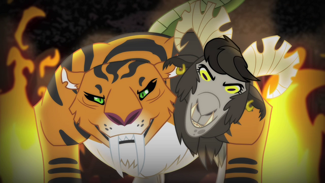 File:Chimera's tiger and goat heads S4E17.png