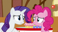 "Rarity ""since you and Dash share"" S6E15"