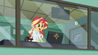 Sunset Shimmer happy EG3