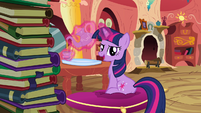 "Twilight Sparkle ""I'm not planning on letting her down"" S3E9"
