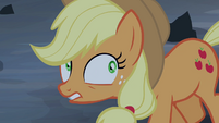 Applejack frightened expression S4E03