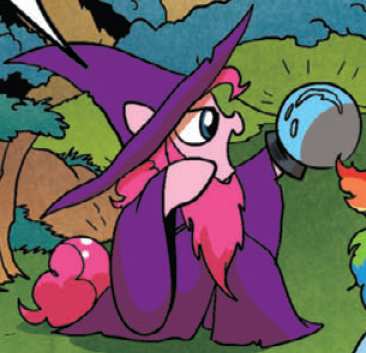 File:Comic issue 16 Fantasy adventurer Pinkie.png
