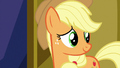Applejack looking at Twilight Sparkle S7E14.png