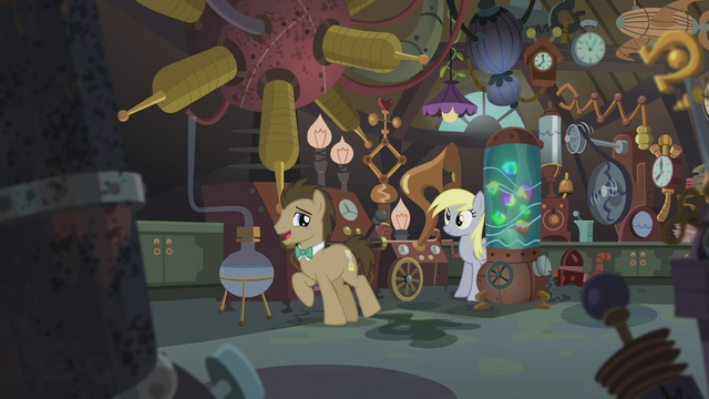 """File:Dr. Hooves """"I've been studying science my whole life"""" S5E9.png"""