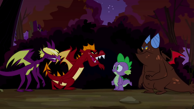 File:Dragons talking to Spike S2E21.png