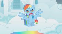 Rainbow Dash battle yell S1E7