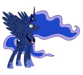 FANMADE Princess Luna full magic by draikjack