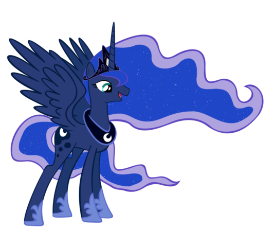File:FANMADE Princess Luna full magic by draikjack.png