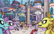 FIENDship is Magic issue 3 Ancient Canterlot