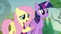 "Fluttershy ""why are you 'pumpkining' your neighbors?"" S5E23"