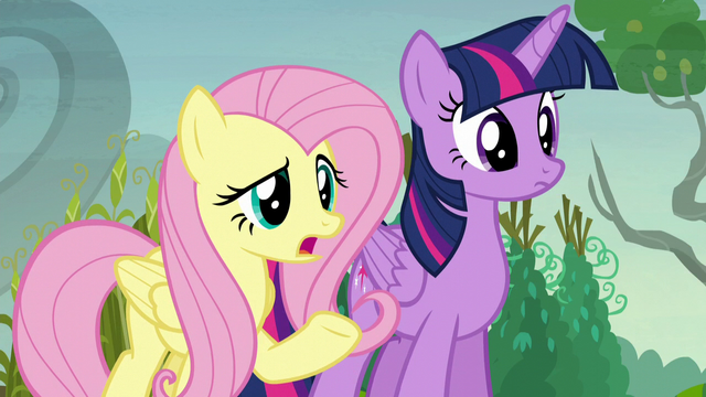 "File:Fluttershy ""why are you 'pumpkining' your neighbors?"" S5E23.png"