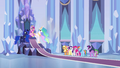 Main 6 and princesses in throne room EG.png