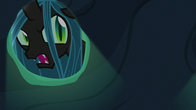 "File:Queen Chrysalis ""using their abilities against me"" S6E26.png"