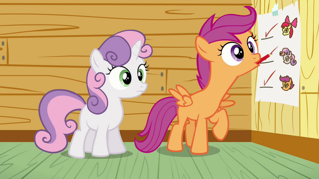 File:Scootaloo ticking at blank space S3E04.png