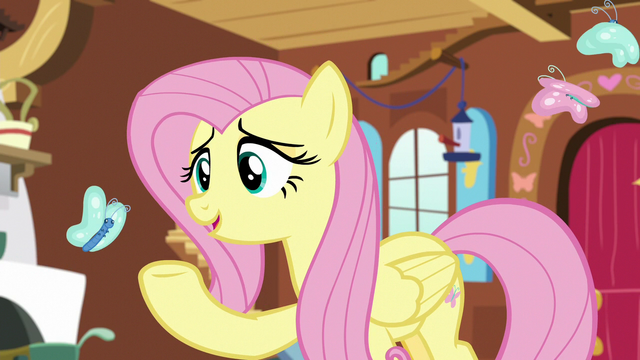 """File:Fluttershy """"cozy but natural"""" S7E5.png"""