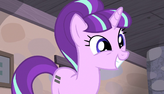 Starlight Glimmer giddy smile S5E1