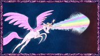 Storybook Celestia casting magic S01E01