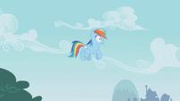 Rainbow Dash hears Pinkie Pie S01E05