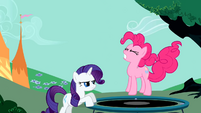 Pinkie Pie suddenly stopping S1E26