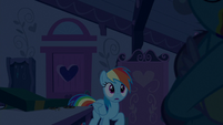 Rainbow Dash asks Mrs. Cake about Pinkie S6E15