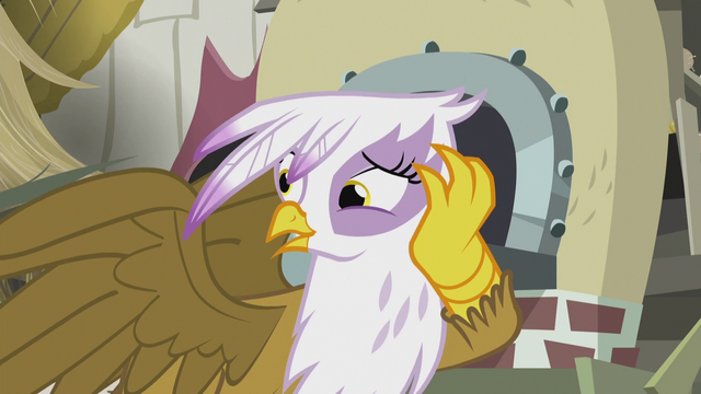 "File:Gilda ""the first nice thing anygriffon's ever said to me!"" S5E8.png"