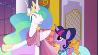 "Princess Celestia ""the most fun Gala in years!"" S5E7"