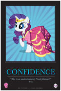 """Rarity """"Confidence"""" poster from ComicCon 2012"""