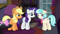 Coco Pommel blushing with embarrassment S5E16.png