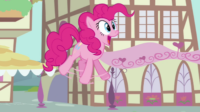 Pinkie Pie big gasp S02E18