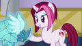 Posh Pony holding her Princess Dress S5E14.png