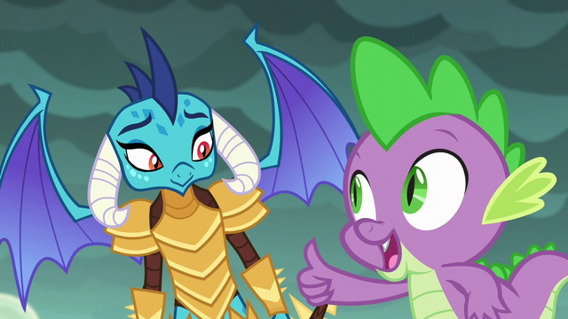 File:Spike giving Ember a thumbs-up S6E5.png
